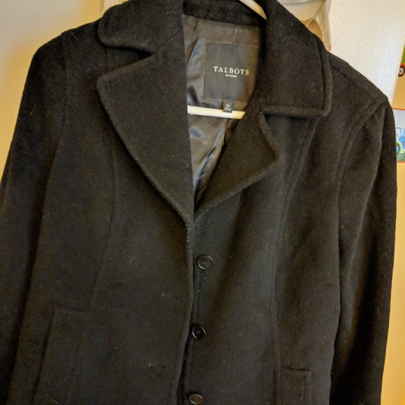 best selling hot-selling professional vast selection Talbots Wool and Alpaca peacoat